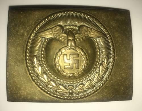 SA marked static upright swastika