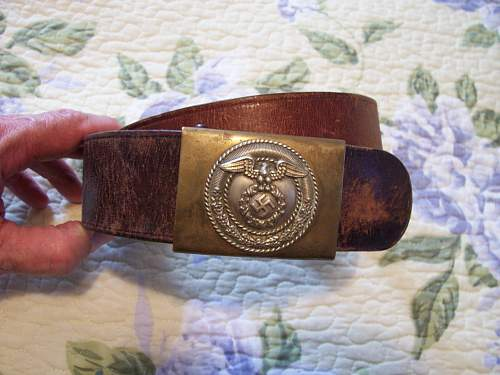 SA belt, and buckle i just picked up.