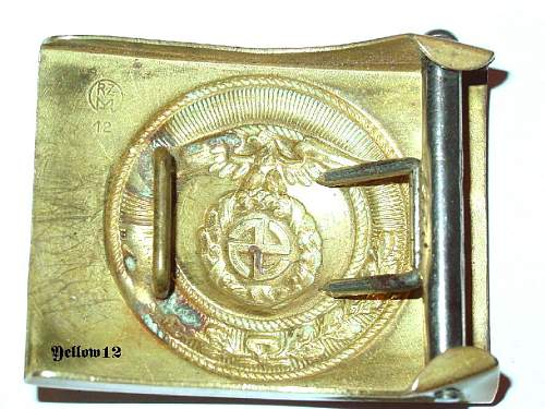 Marked SA Buckles...