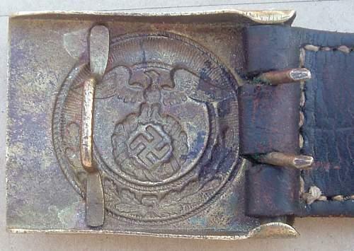 H. Aurich 1937 - SA Mobile Buckle