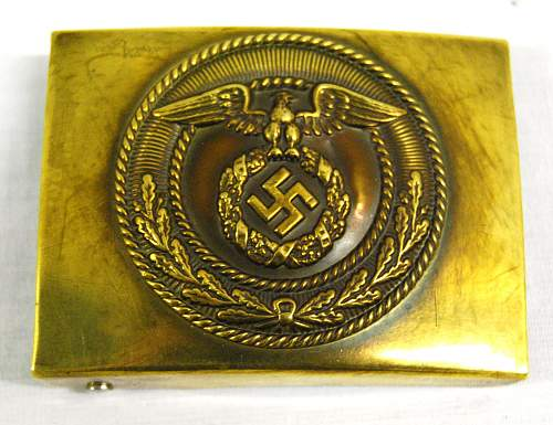 SA belt buckle, any thoughts?