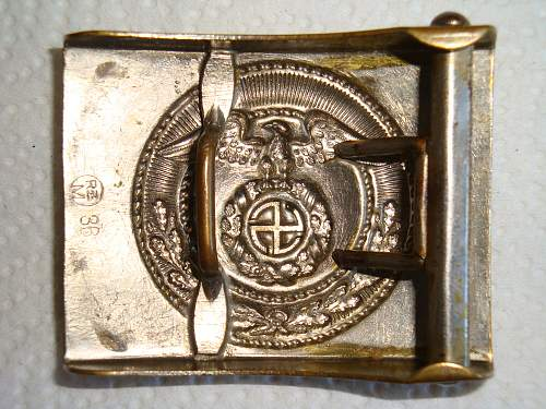SA Sun Wheel Swastika Buckle - Worth a Punt ?