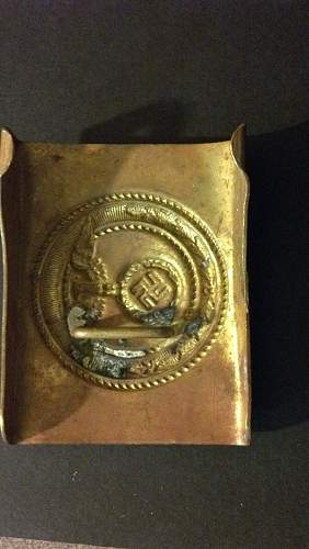 Have a Nazi Belt Buckle, Real or Fake, Worth Anything?