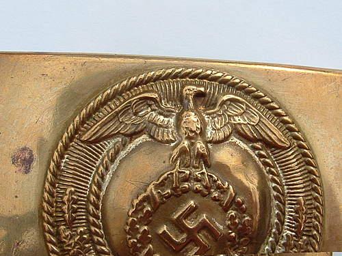 Mobile Swastika SA Buckle
