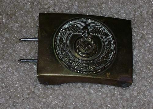 Re: SA Buckles (Brass) Mobile Swastika