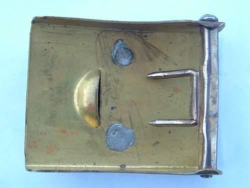 SA buckle by Assmann