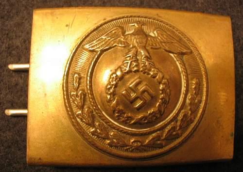 SA Buckles (Brass) Mobile Swastika