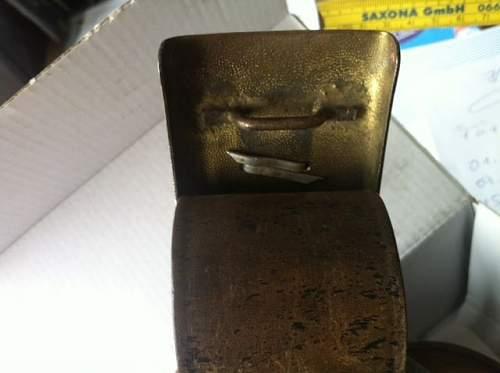 NSKK belt buckle genuine?