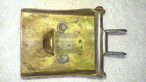 SA buckle and belt
