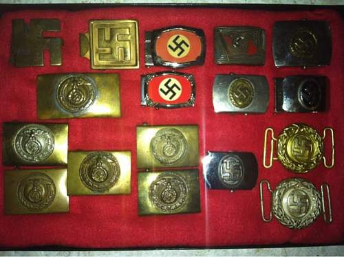 N.S.D.A.P. supporters belt buckle genuine?