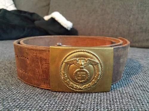 My complete Assmann SA-belt :)