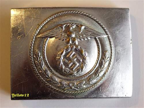 SA Buckles (Nickel) Mobile Swastika