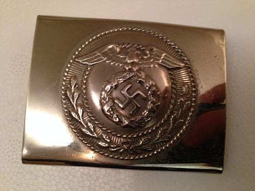 SA Belt Buckle - Genuine?