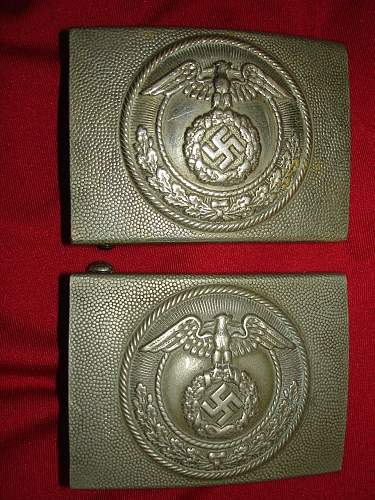 2 new buckles