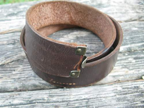 SA Belt with Abteilung Info