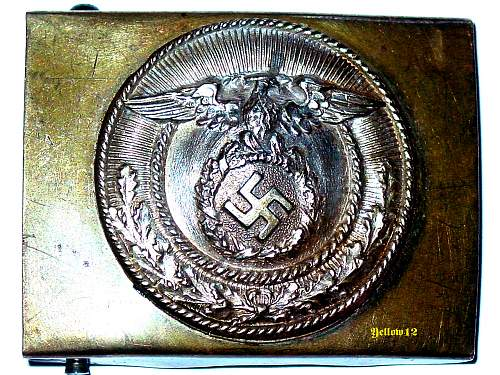 Question about a SA buckle