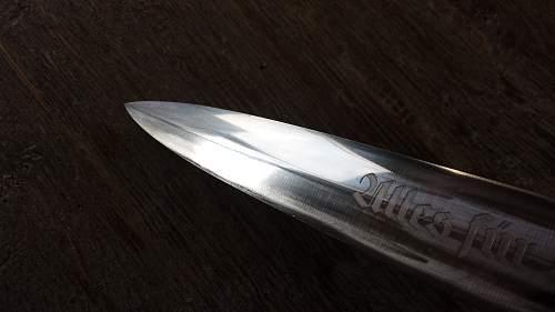 Early SA dagger by Carl Linder