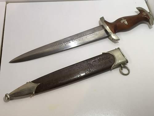 SA dagger August Merten Ww