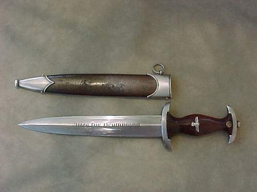 Two SA Daggers: Authentic Pieces? A Good Deal?