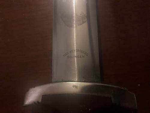 SA dagger real or fake?