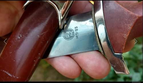 RZM SA Dagger Real Fake ?