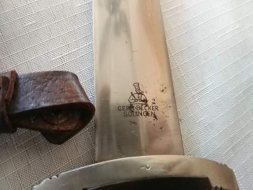 Gebr-Becker SA dagger