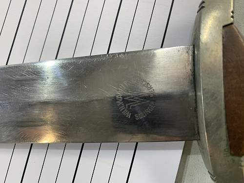Questionable SA dagger?