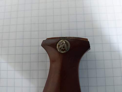 SA dagger handle identification