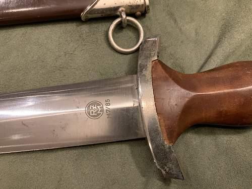 For REVIEW - SA Dagger M7/85 (Arthur Evertz)