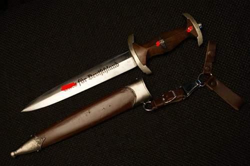 SA dagger.Fake or Real?