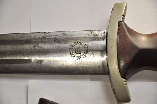 SA Dagger by Carl Schmidt & Sohn AG Solingen