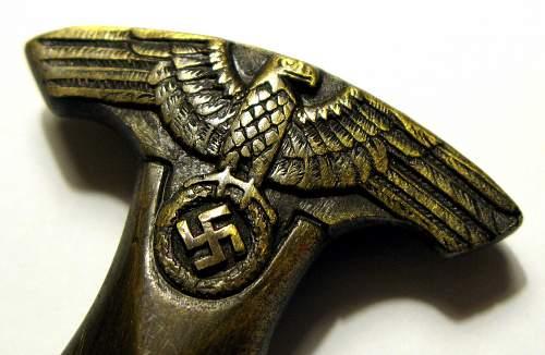 True or false SA letter opening dagger?