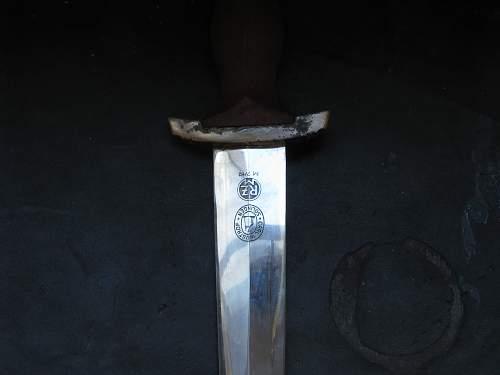 Opiniion about an SA dagger rzm7/112 carl wusthof