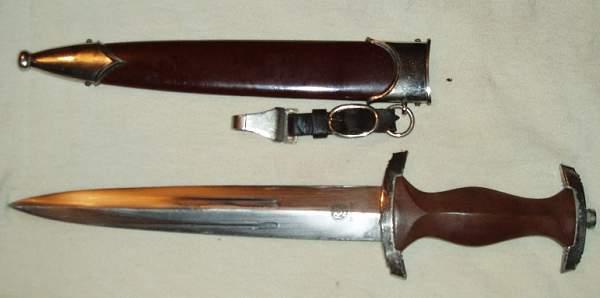 Today's find: SA Dienstdolch RZM M7/37