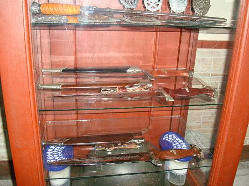 Five SA daggers