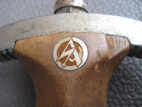 Is this SA dagger authentic? NSKK?