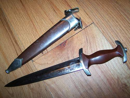 SA Dagger Help Needed With Opinons On Value and Rarity of Maker