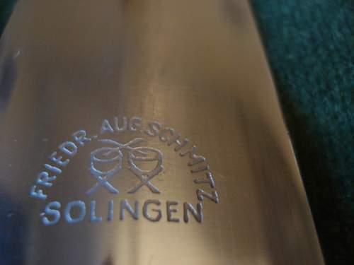 F Ohliger SA Dienstdolch for Mac 66