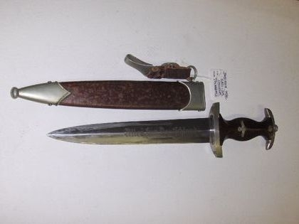 Two SA (?)  daggers at auction