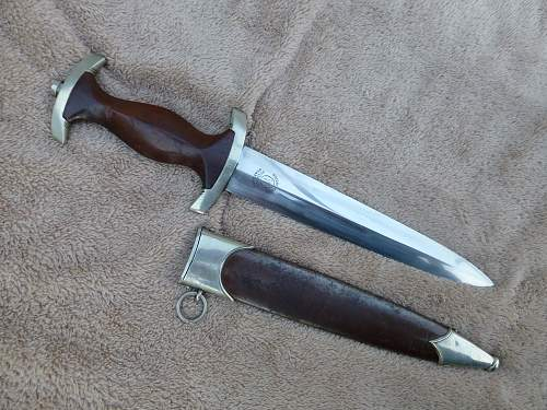Early SA dagger by Gustav Wirth, rare SA maker
