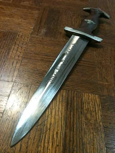 real or fake? SA dagger