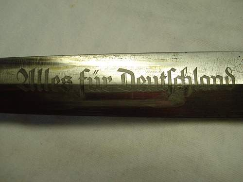 My First SA Dagger Vet bringback