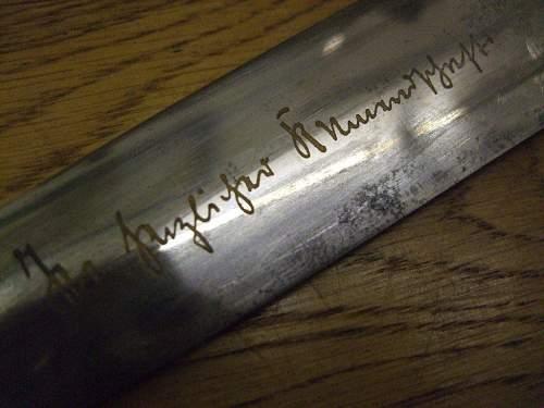 SA Partial Rohm inscription