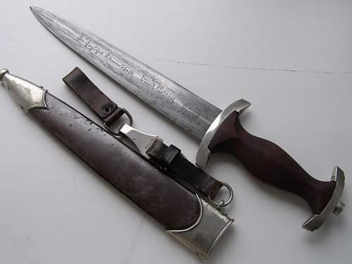SA Dagger from fake seller