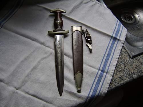 Ernst Bruckmann SA dagger, a rarity ?