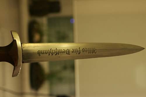 SA dagger F. Herder A.S.
