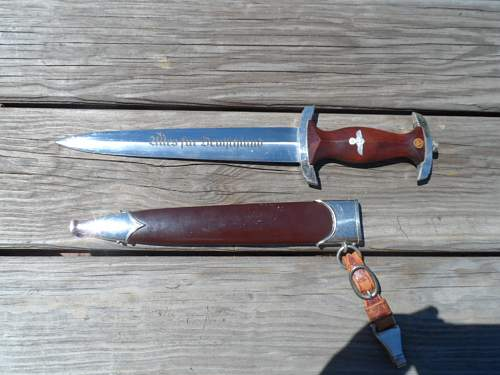 First Authentic Knife RZM M7/66 1941 with Hanger