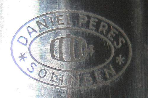 SA Dagger maker Daniel Peres