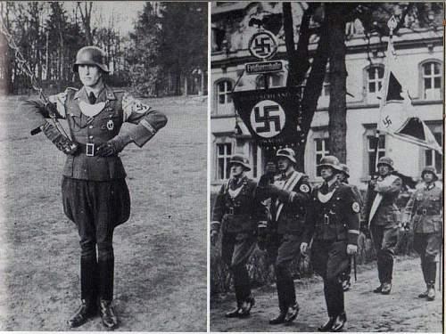 Feldherrnhalle Dagger Erich Reiman