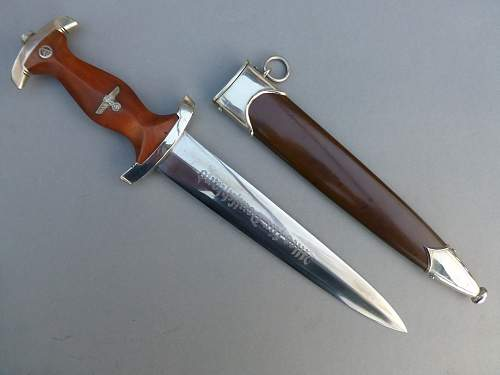 Early SA dagger by Herbeck & Meyer